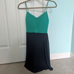 Jodi Kristopher Two Toned Dress